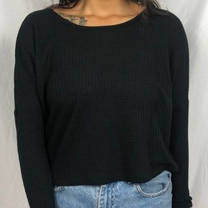 Cropped long sleeve